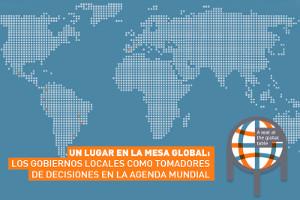 Un sitio en la mesa global