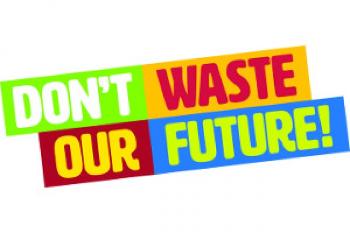 """Don't waste our Future!"""